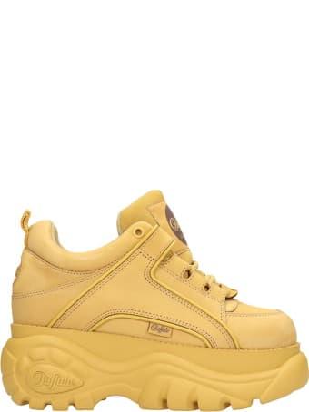 Buffalo Low Yellow Classic Platform Sneakers