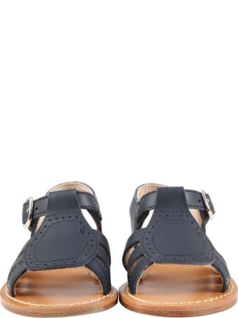 Gallucci Blue Sandales For Kids