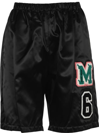 MM6 Maison Margiela Mm6 Patch Track Shorts