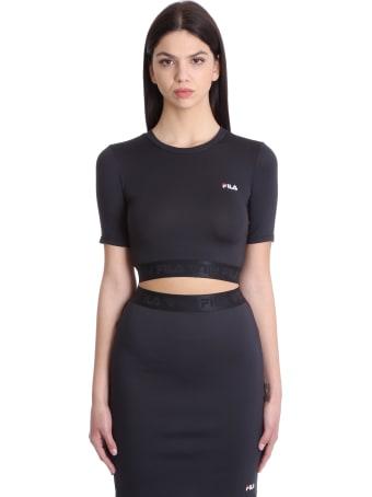 Fila Cylin T-shirt In Black Polyester