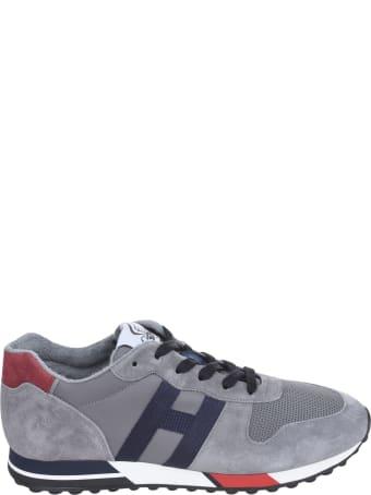 Hogan Mesh Panel Logo Sneakers