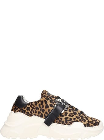 Paula Cademartori Sneakers In Animalier Pony Skin