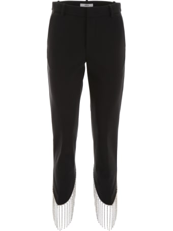 AREA Crystal Fringes Trousers