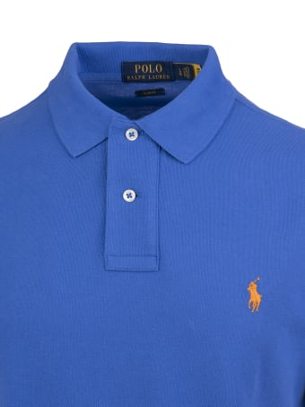 Ralph Lauren Royal Blue Embroidered Logo Polo