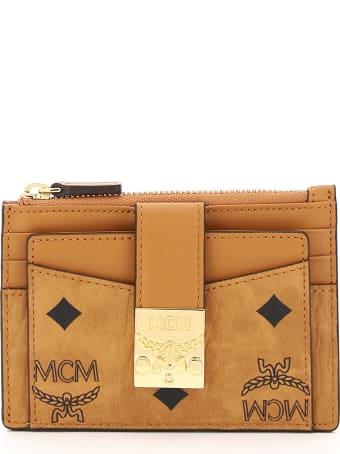 MCM Patricia Visetos Card Holder Pouch