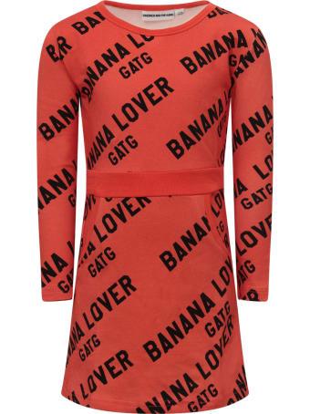 """Gardner and the Gang Red """"banana Lover"""" Dress For Girl"""