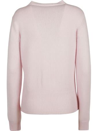 Be Blumarine Braid Knit Pattern Sweater