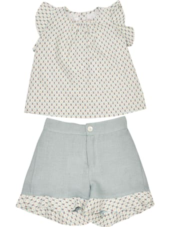 Mariella Ferrari Printed Shorts Set