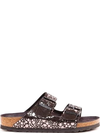 Birkenstock Arizona Metllic Birkoflor Sandals