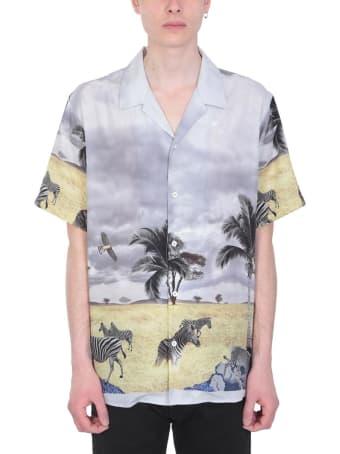 Danilo Paura Grey Viscose Shirt