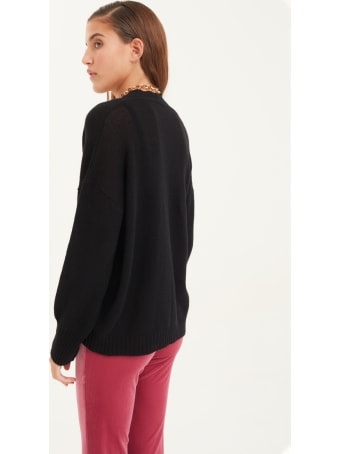 Antonella Rizza Cardigan Diamond Black