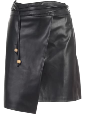 Nanushka Sekoya Skirt A Line Faux Leather