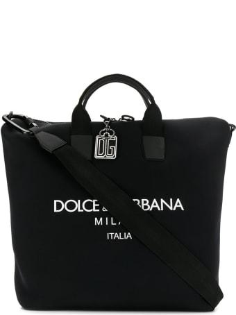 Dolce & Gabbana Neoprene Hobo Bag
