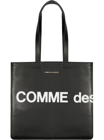 Comme des Garçons Play Huge Logo Shopping Bag
