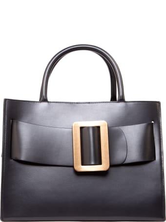 BOYY Bobby 32 Black Smooth Leather Handbag