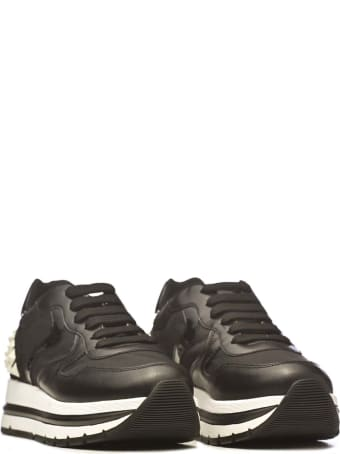 Voile Blanche Voile Blanche Maran Studs Black Sneakers
