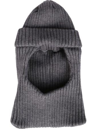CA4LA Grey Wool Blend Balaclava