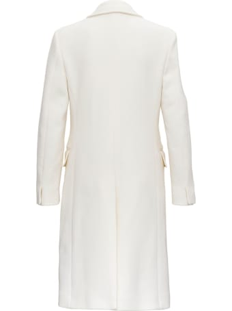 Alberta Ferretti Double-breasted Wool Coat