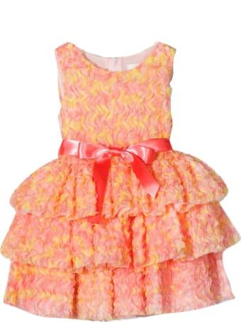 Charabia Dress With Ruffles
