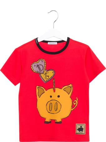 Dolce & Gabbana Piggy Bank Tee