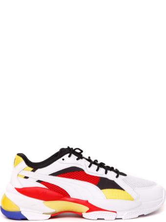 Puma Select Lqd Cell Epsilon Multicolor Nylon & Leather Sneaker