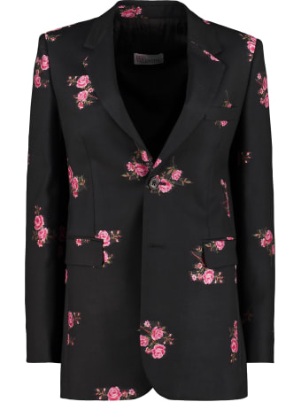 RED Valentino Wool Single-breasted Blazer