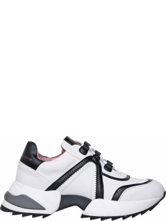 Alexander Smith London Alexander Smith Marble White Sneakers