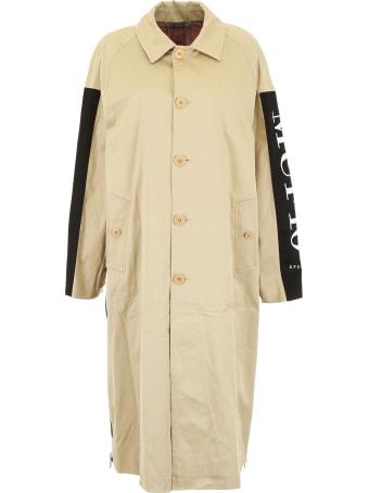 MUF10 Reversible Trench Coat