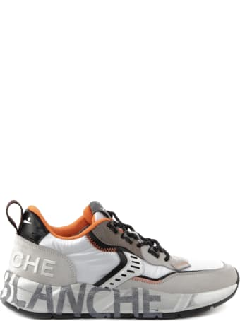 Voile Blanche Club 01 Sneakers In Technical Fabric And Suede