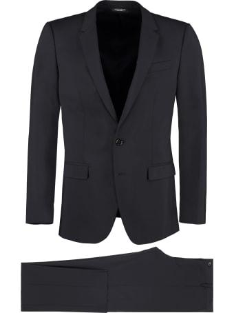 Dolce & Gabbana Martini Virgin Wool Dress