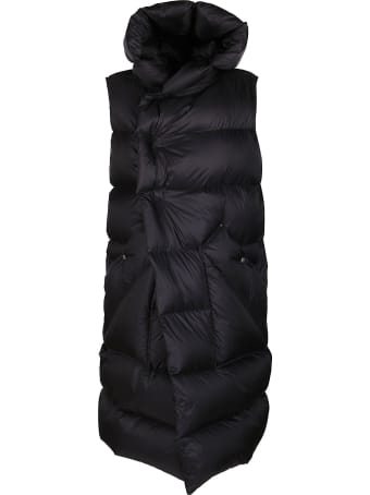 Rick Owens Black Padded Coat