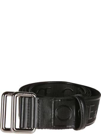 Dolce & Gabbana Logo Tape Belt