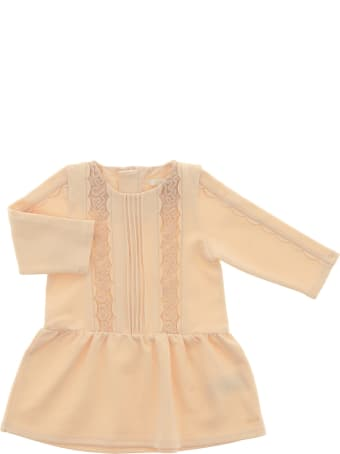 Chloé Smocking And Eylet Dress