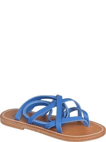 K.Jacques Zenobie Flat Sandals