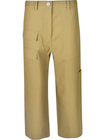 Sofie d'Hoore Cropped Length Cargo Trousers