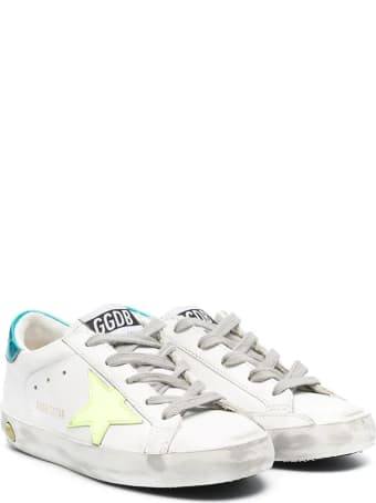 Golden Goose Yellow Retro Turquoise Star Sneakers
