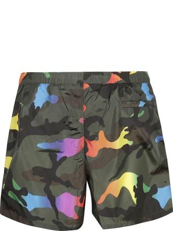 Valentino Camouflage Swim Shorts