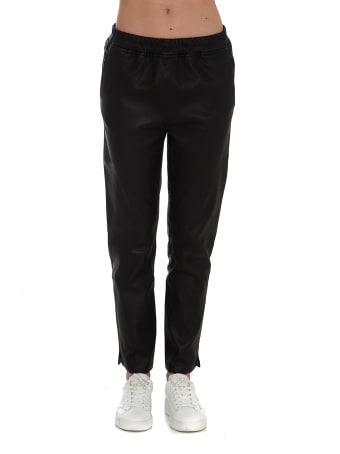 ARMA Faux Leather Trousers Provence