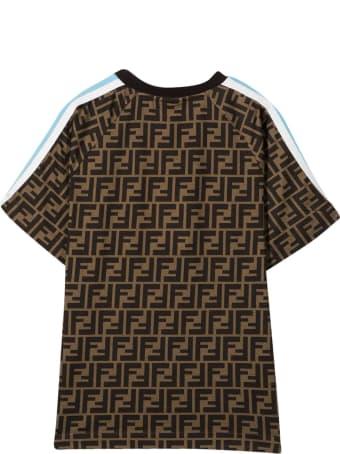 Fendi Brown Teen T-shirt
