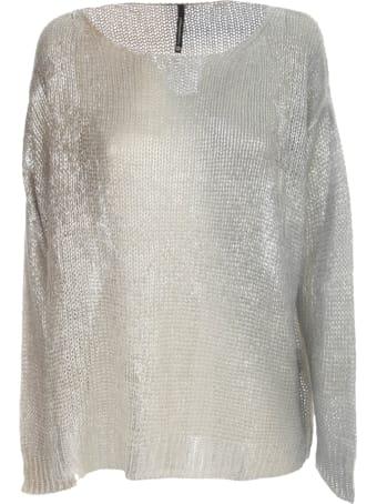 PierAntonioGaspari Long Laminated Sweater L/s
