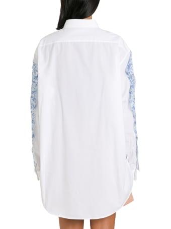 Acne Studios Overlay-chiffon Shirt
