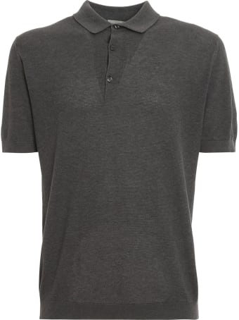 John Smedley Roth Pique Shirt Ss