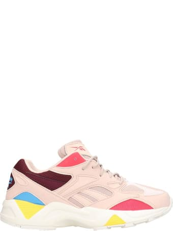 Reebok Aztrek 96 Sneakers In Rose-pink Leather