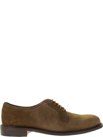 Berwick 1707 Laced Shoe In Suede