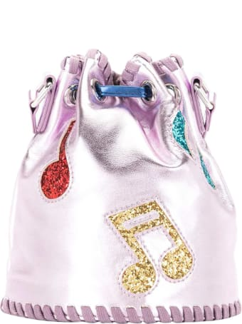Stella McCartney Kids Music Notes Bucket Bag