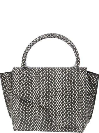 ATP Atelier Snake Print Shoulder Bag