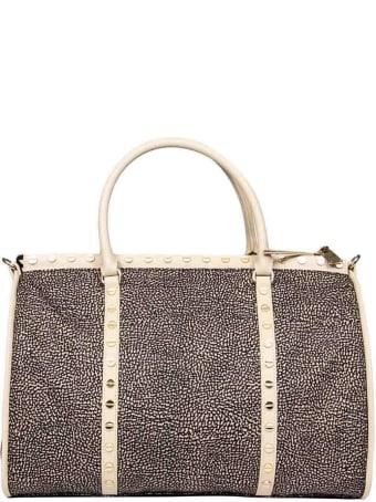 Borbonese Medium Metro Handbag