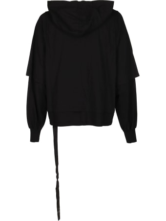 DRKSHDW Black Cotton Sweatshirt