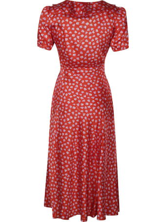 Marc Jacobs Heart Print Long Dress