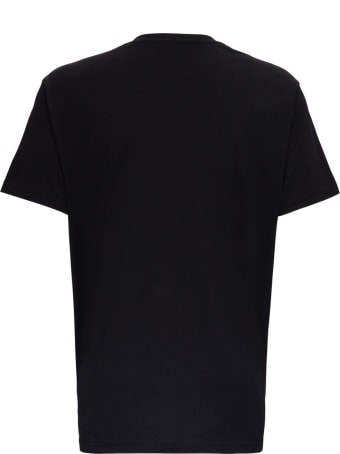 Givenchy Cotton T-shirt With Schematics Logo Print